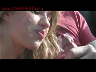flannel sucking with spunk in mouth compilation