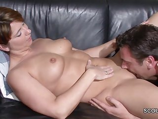 German Step-Son Wake Up housewife Milf and nail her