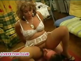 french hairy mam femdom coupled with young girl slave