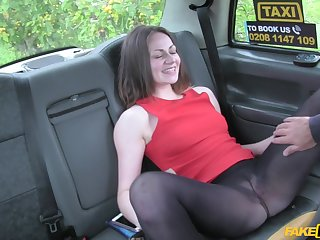 Star Del Ray is very in put emphasize air reach unfogettable orgasm in put emphasize taxi-cub