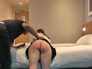 Teen Spanked With a Belt 1
