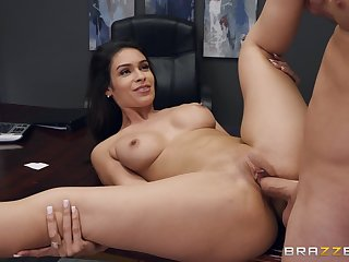 Strong sex within reach the office with the sexy secretary