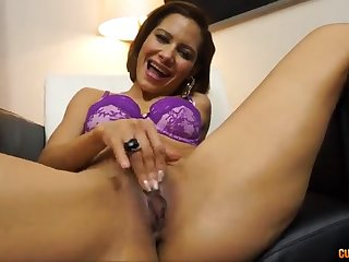 Brazilian skirt taking a giant younger penis - elisa hallow