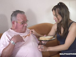 Older guy got lucky and banged hot natural tits Azure Promoter