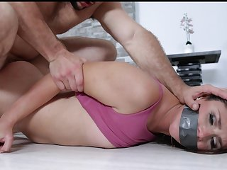 Lying face down increased by ass up Jaimie Secret agent enjoys uncultivated doggy fuck