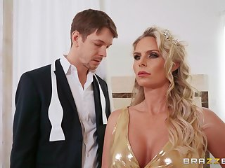 Anal loving full-grown wife Phoenix Marie moans during wild fucking