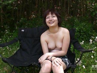 Asian short-haired MILF amazing sex blear