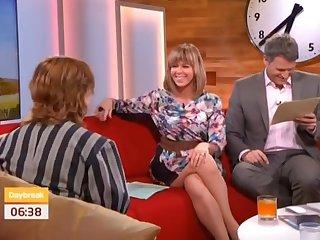 Sexy hooves Kate Garraway