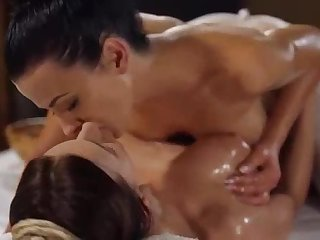 Lesbian massage action