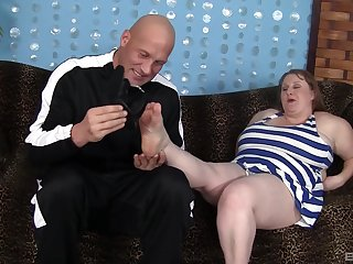 BBW in mature scenes of seem like pussy sex