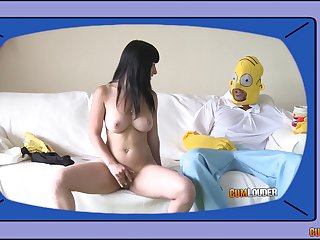 Kinky shacking up clubbable with nice tits girlfriend who loves anal