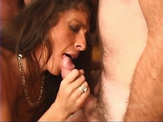 Trailer Park Slut Cums Back Be beneficial to Another Everywhere Of Cocks