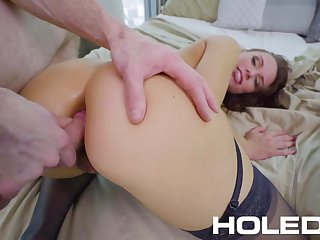 Warming up in the air a sex knick-knack this bootyful Aidra Fox is ready for hard banging