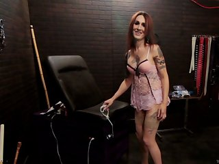 Video be incumbent on naughty shemale Brittany St. Jordan possessions tortured