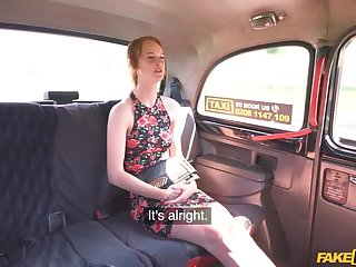 Sexiest Ginger Cab Passenger ever Puts out POV