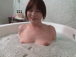 Creampie ending after sensual making out with Japanese violently Chiho Fujii