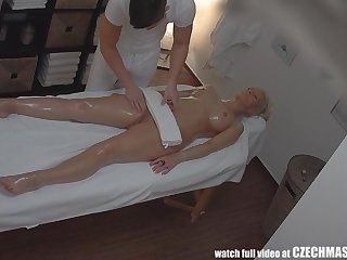 Tattoed Girl - Blonde Fucked During Knead