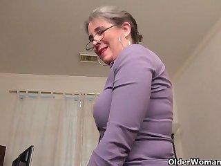 An aged woman intervention joy part 35